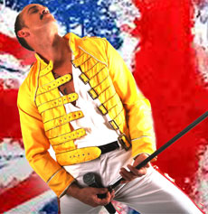 <h5><strong>Freddie Mercury</strong></br>Freddie - Joey Linden</h5>