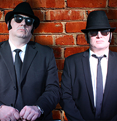 <h5><strong>The Blues Brothers</strong></br>The Soul Men</h5>