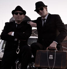 <h5><strong>The Blues Brothers</strong></br>Birmingham Blues Brothers </h5>