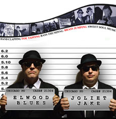 <h5><strong>Blues Brothers</strong></br>On A Mission</h5>